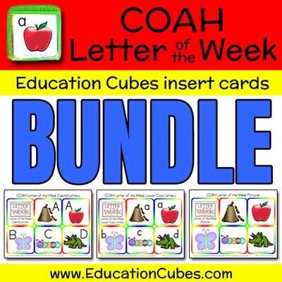 COAH Letter of the Week Alphabet (BUNDLE)