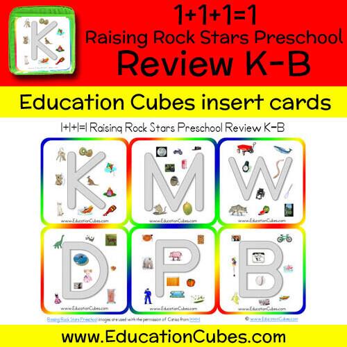 1+1+1=1 Raising Rock Stars Preschool (Review K-B)