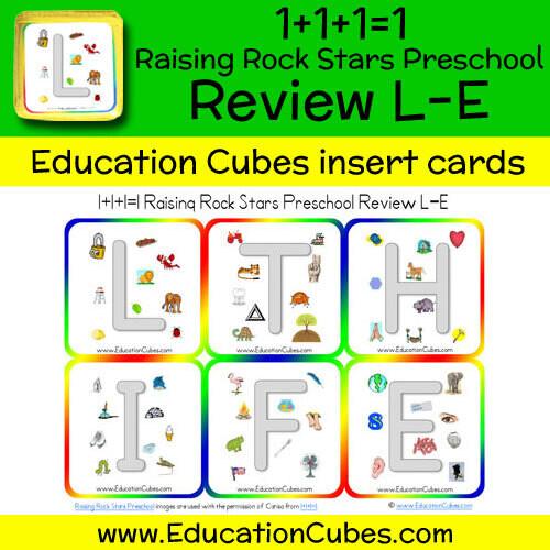1+1+1=1 Raising Rock Stars Preschool (Review L-E)