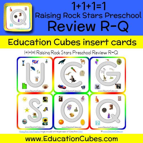 1+1+1=1 Raising Rock Stars Preschool (Review R-Q)