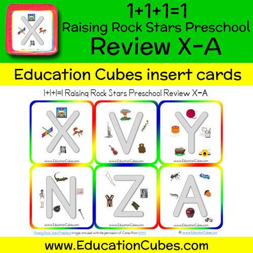 1+1+1=1 Raising Rock Stars Preschool (Review X-A)