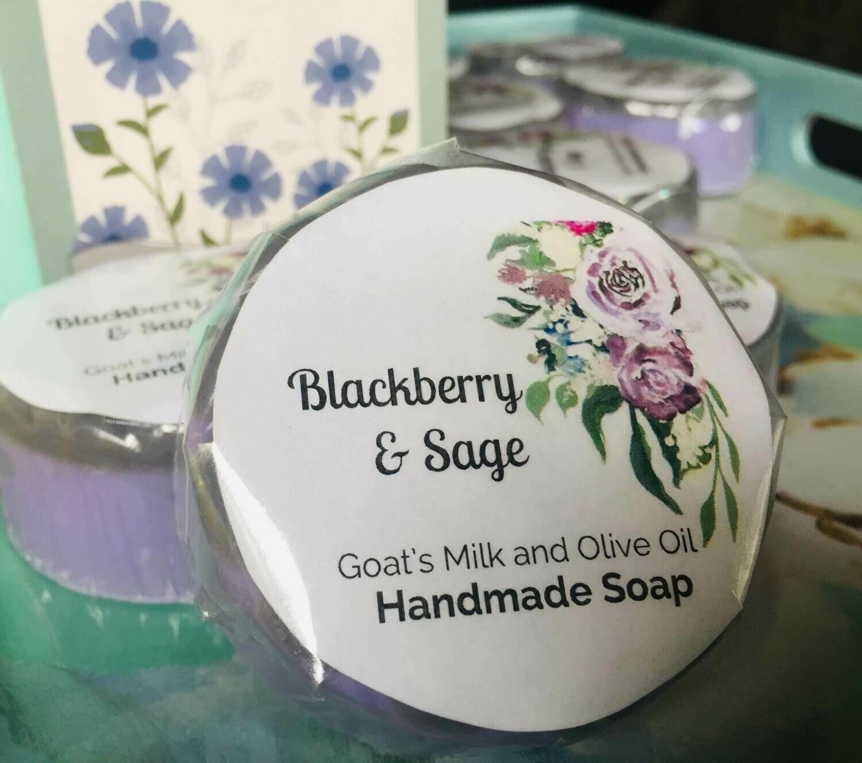 Blackberry and Sage Olive Oil