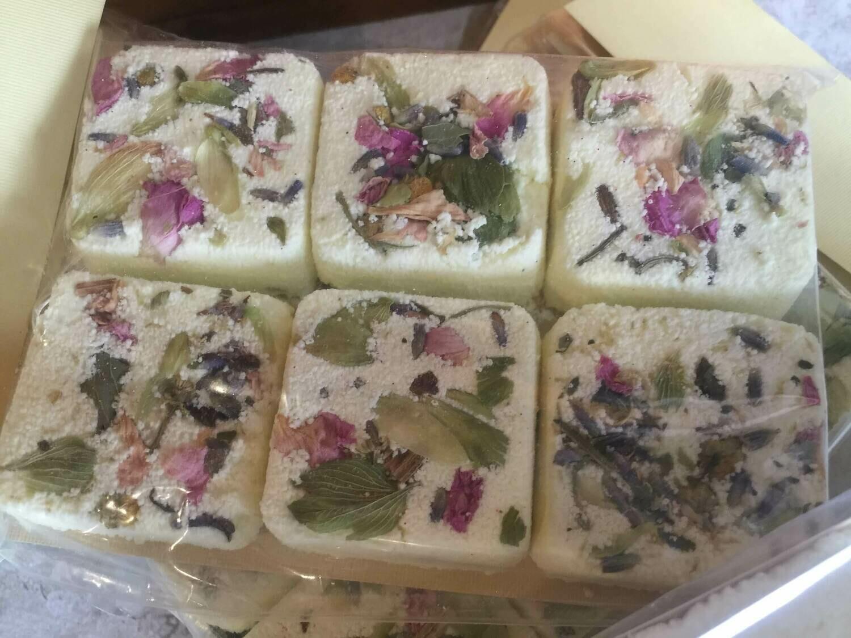 Relaxing Herbs Bath and Shower Fizz