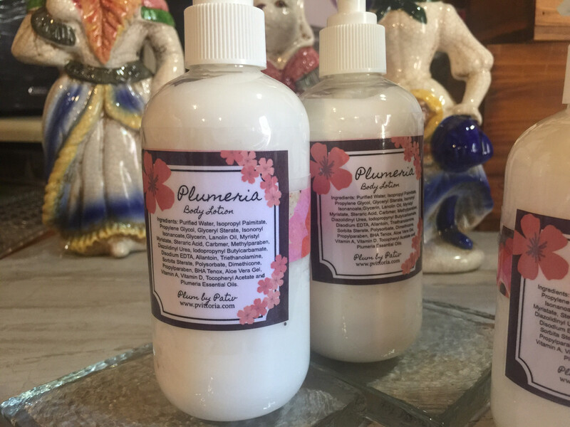 Plumeria Hand and Body Lotion