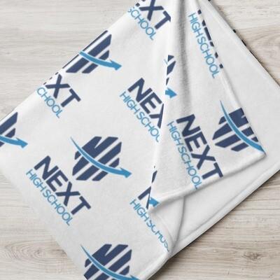 NHS Logo Throw Blanket