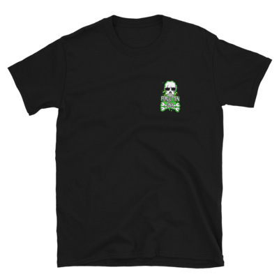 Forgotten BMX Skull 'n' Bones T-shirt - Black