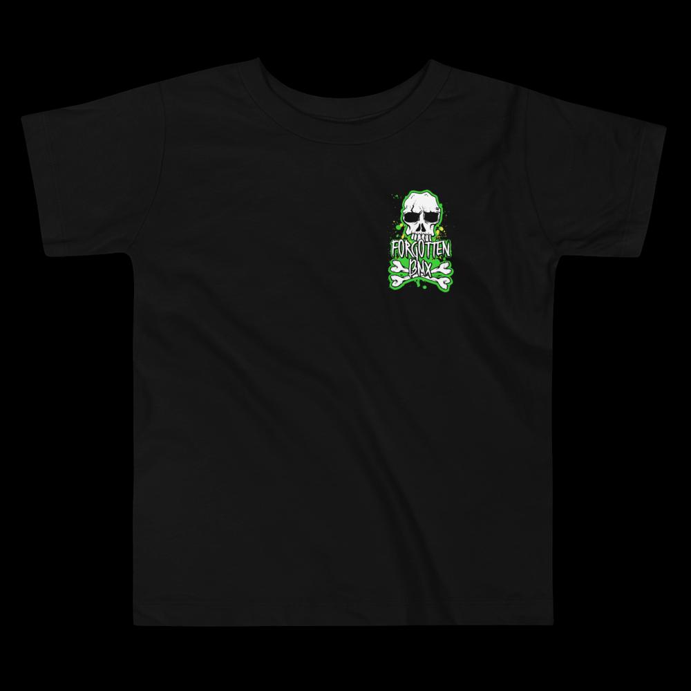 Toddler Forgotten BMX Skull 'n' Bones T-shirt - Black