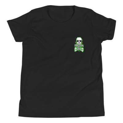Youth Forgotten BMX Skull 'n' Bones T-shirt - Black