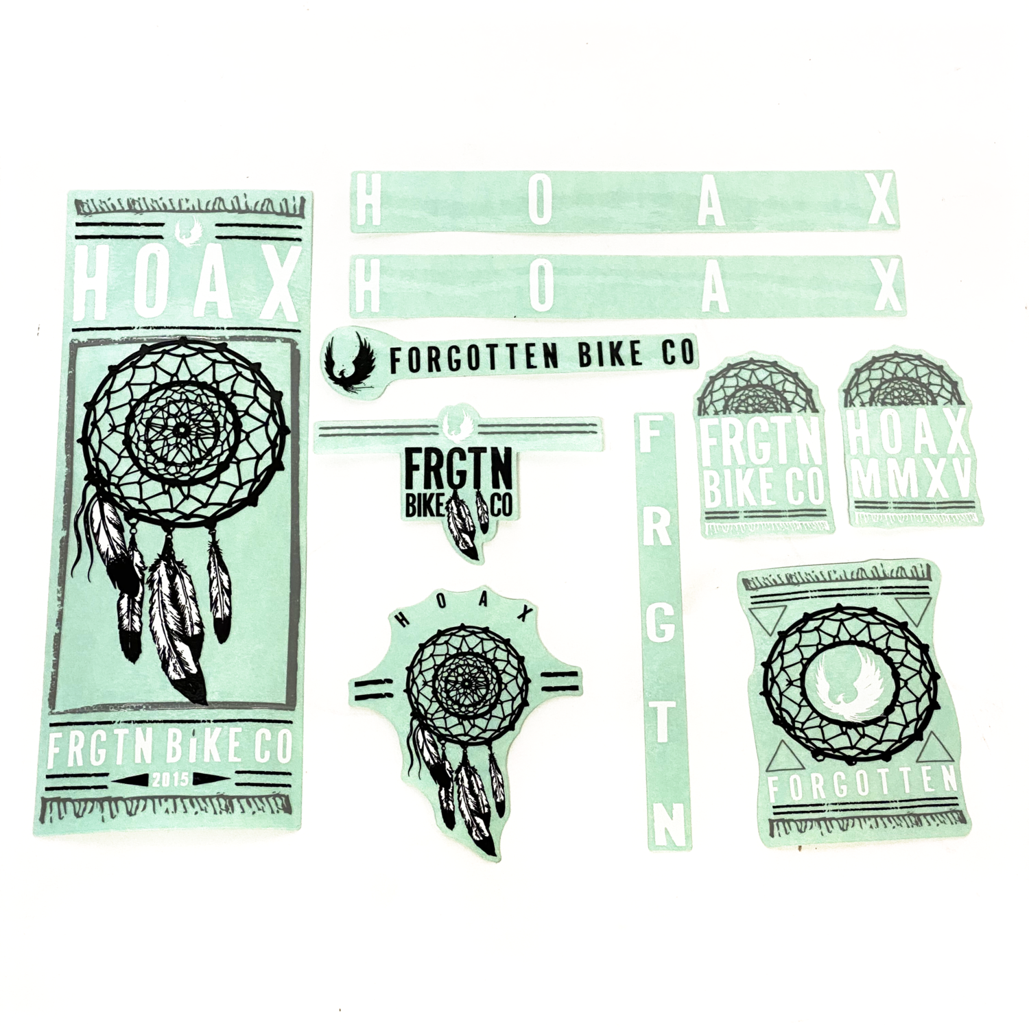 Forgotten BMX 2015 Hoax Sticker pack