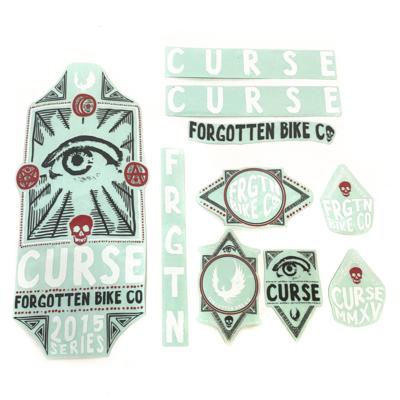 Forgotten BMX 2015 Curse Sticker pack