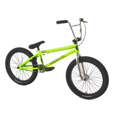 Thrasher BMX bike - Green - Forgotten BMX