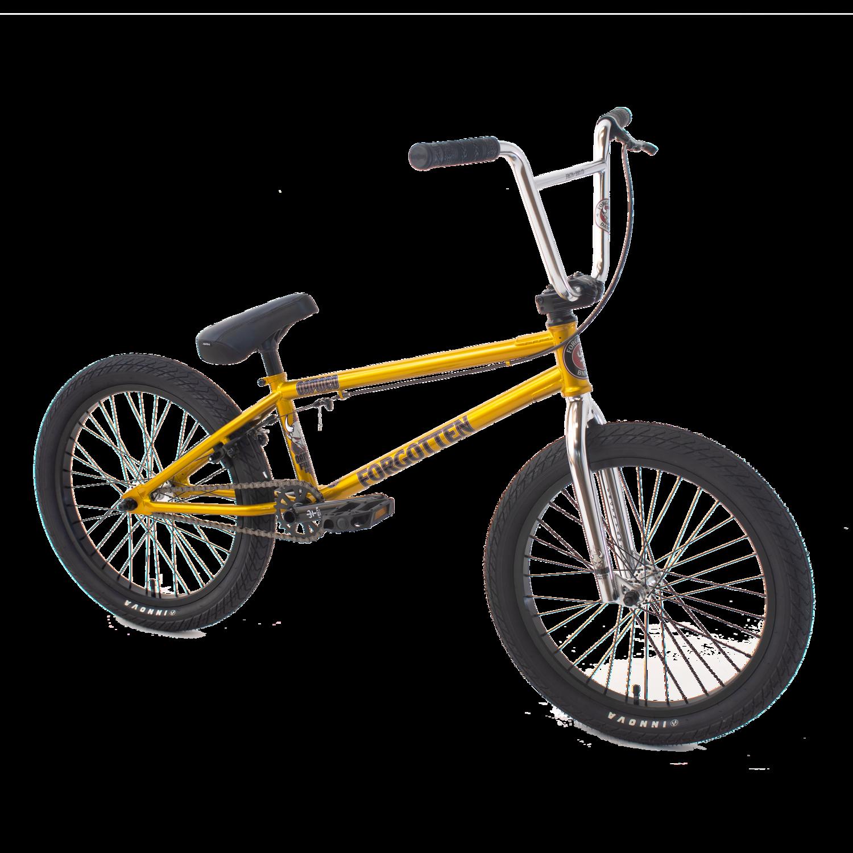 Damned BMX bike - Gold - Forgotten BMX