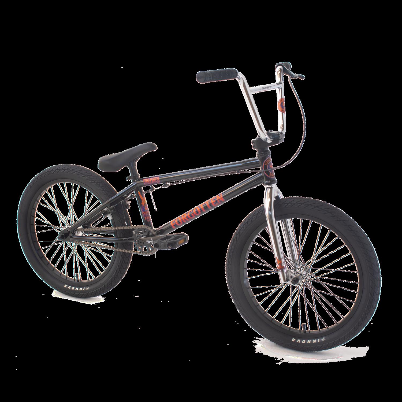 Thrasher BMX bike - Black - Forgotten BMX