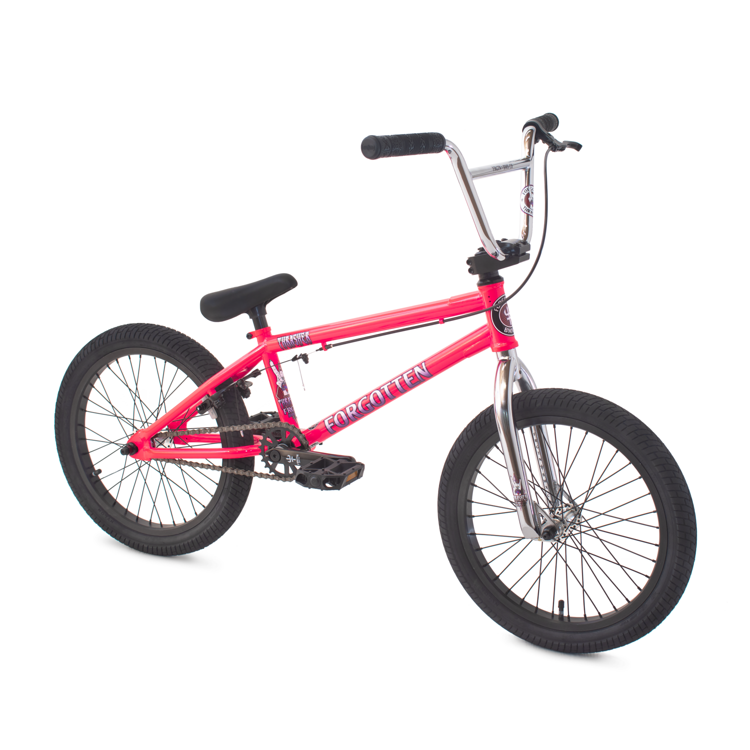 "Thrasher 18"" BMX bike - Pink - Forgotten BMX"