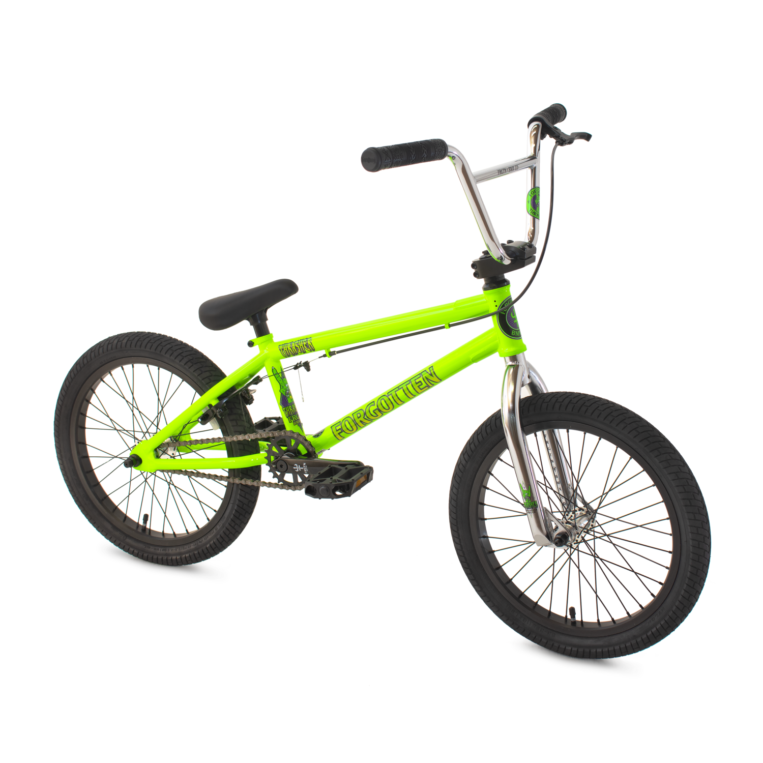 "Thrasher 18"" BMX bike - Green - Forgotten BMX"