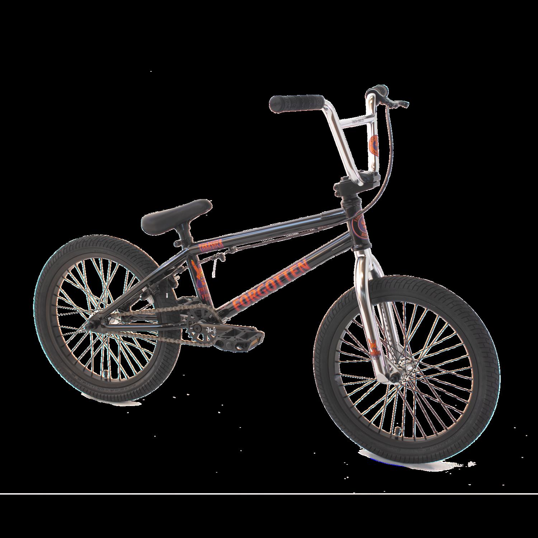 "Thrasher 18"" BMX bike - Black - Forgotten BMX"