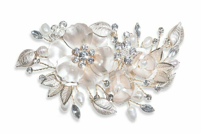 Sunrise Bridal Hair Clip