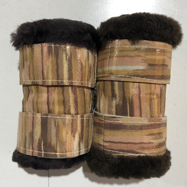Sheepskin Show Boots (Small Pony)