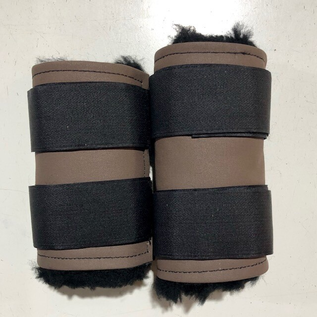 Sheepskin Canvas Paddock Boots (Small Pony)