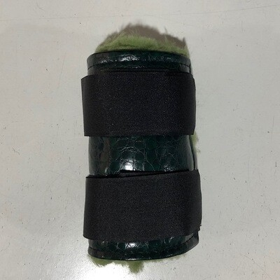 Sheepskin Vinyl Paddock Boots (Small Pony)