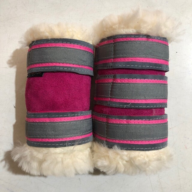 Sheepskin Deluxe Show Boots (Pony)