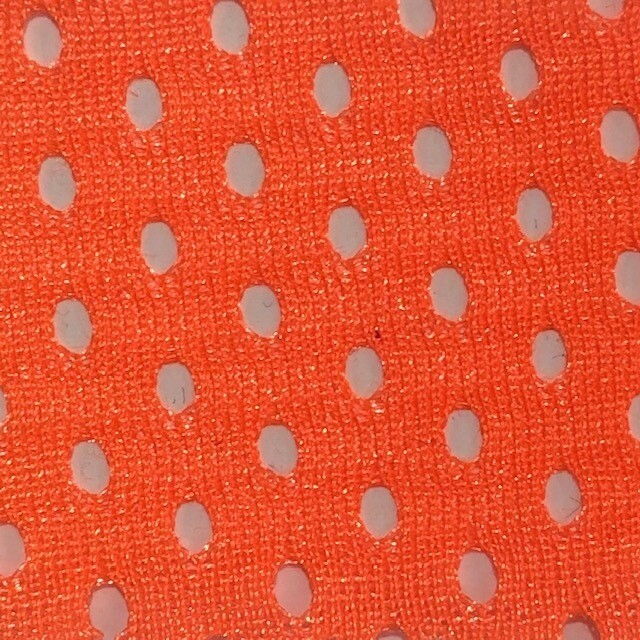 Fluro Orange Airmesh