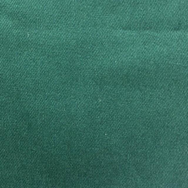 Bottle Green Cotton