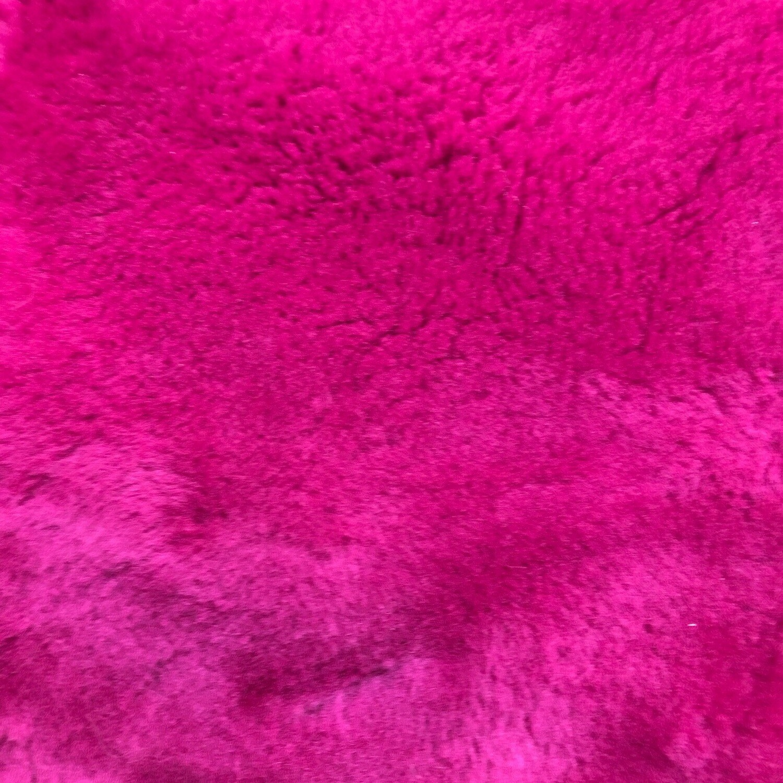 Hot Pink Sheepskin
