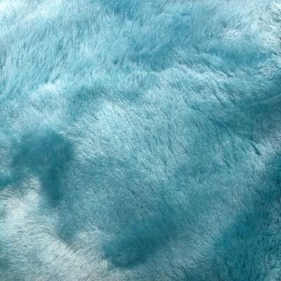 Pale Blue Sheepskin