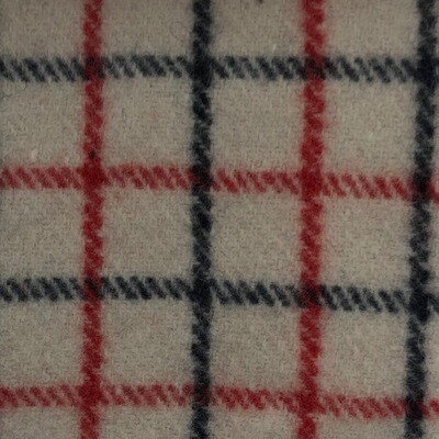 Navy/Red Collarcheck Kersey