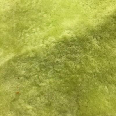 Lime Green Sheepskin