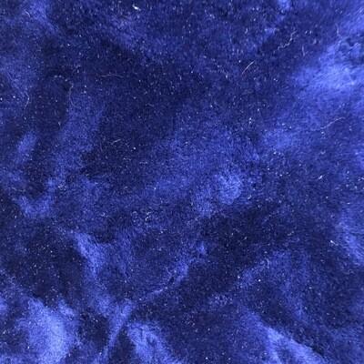 Navy Blue Sheepskin