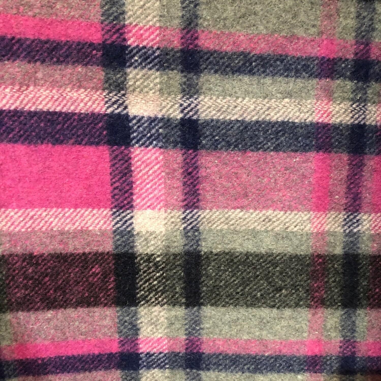 Pink/Grey Check Kersey