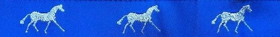 Horse Binding- Royal/ Silver Horse