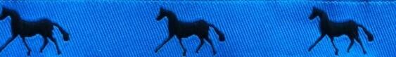 Horse Binding- Aegean/Navy Horse