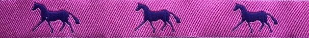 Horse Binding- Pink/Purple Horse