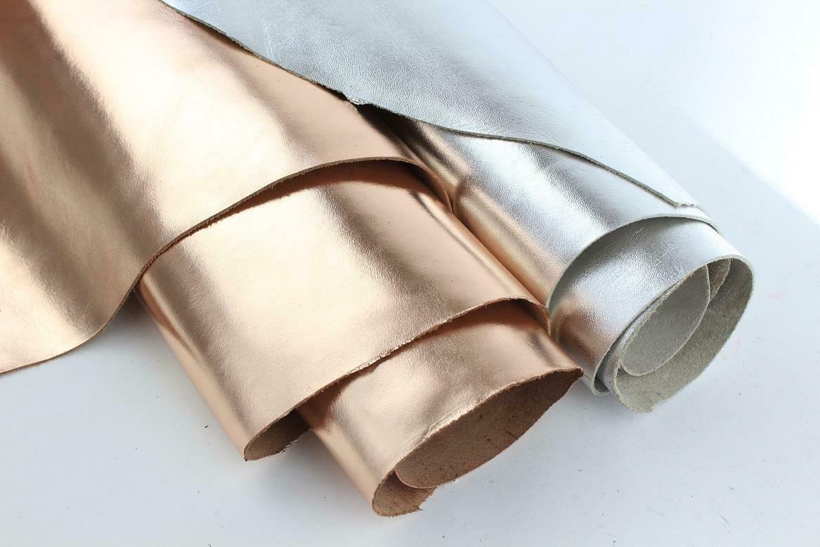 Metallic Silver & Metallic Gold