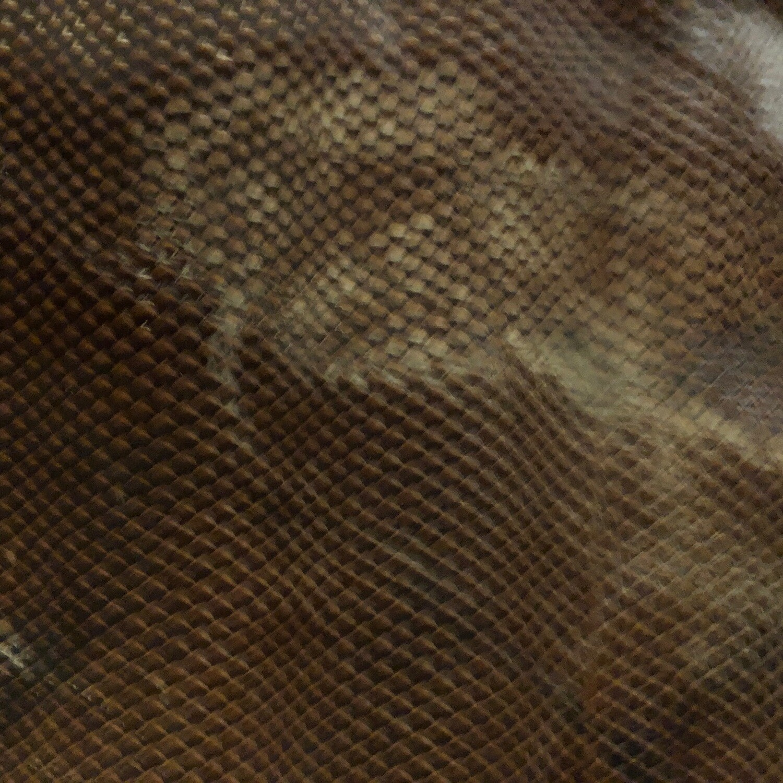 Brown Snake Print no.6