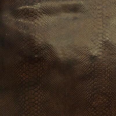 Brown Snake Print no.8
