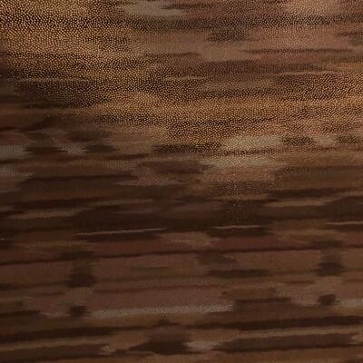 Brown Stripe Print