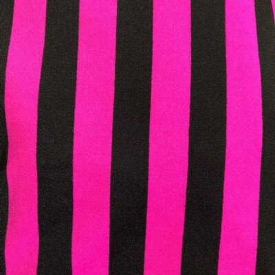 Pink/Black Stripe