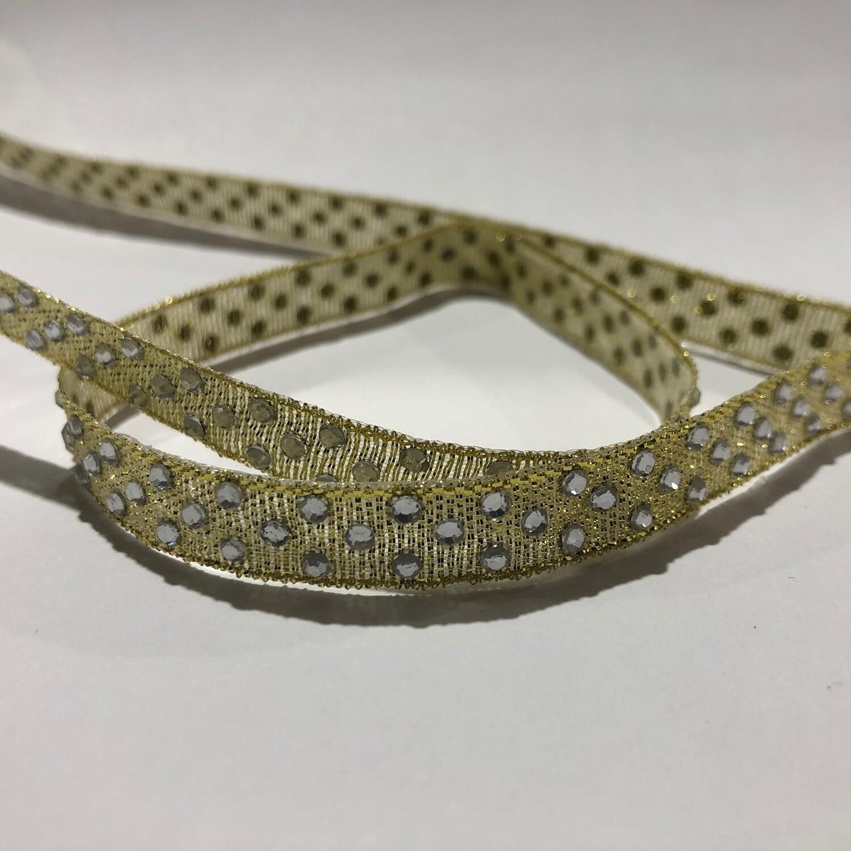 Diamante  Ribbon - per metre