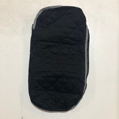 Bridle Bag - Quilted Black/Grey