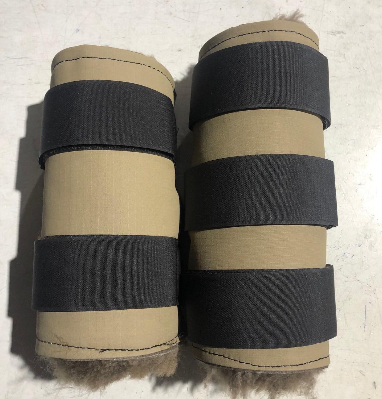 Sheepskin Canvas Paddock Boots (Full)