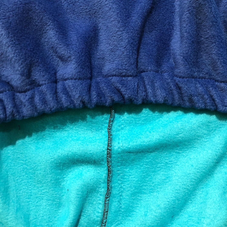 Polar Fleece Saddle Cover -Aegean/Royal Blue