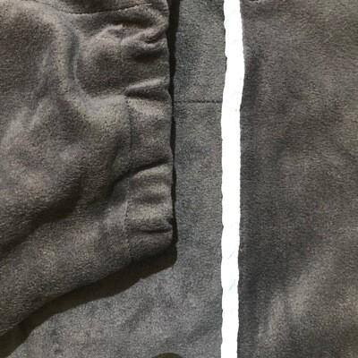 Polar Fleece Neck rug - Navy/sky binding (Small Pony Size)