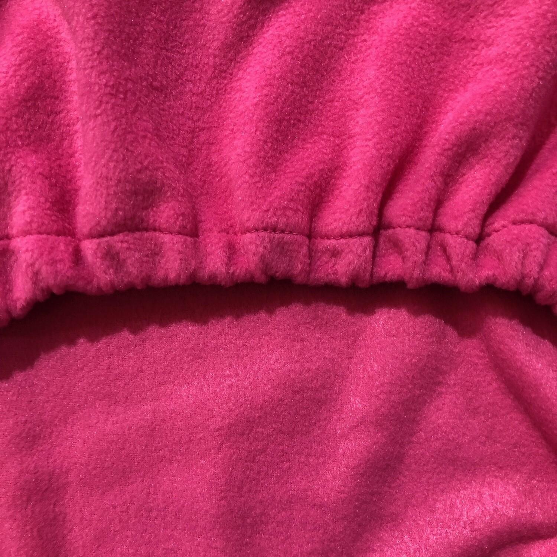 Polar Fleece Saddle Cover - Pink