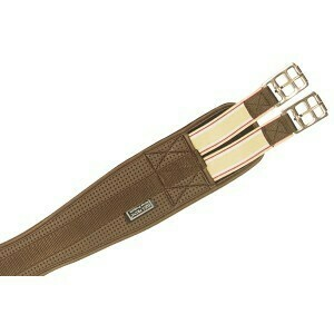 Equiprene Elastic Girth - Brown 90cm