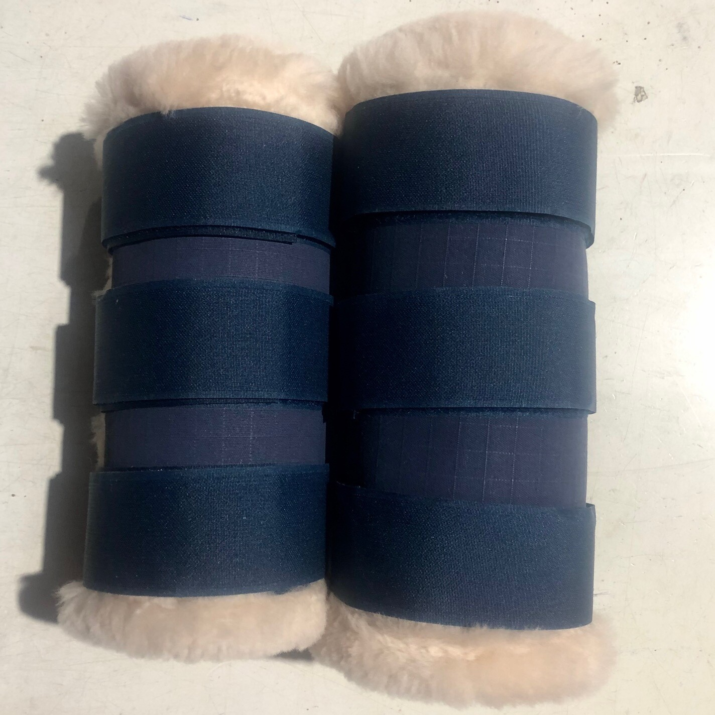 Canvas Rolled Paddock Boots (Full)