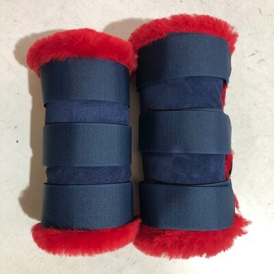 Rolled Sheepskin Paddock Boots (Full)